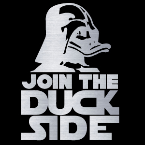 Join the Duck Side! - Chromed Out Edition